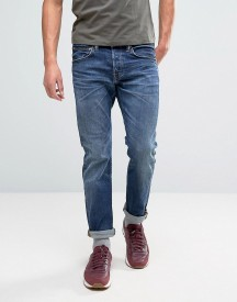 Edwin Ed-55 Regular Tapered Jeans Contrast Clean Wash afbeelding