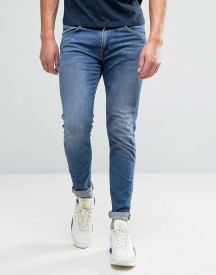 Edwin Ed-85 Slim Tapered Drop Crotch Jeans Mid Trip Used Wash afbeelding