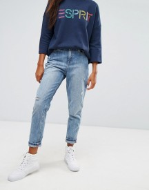 Esprit Embroidered Pocket Mom Jeans afbeelding
