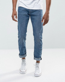 Esprit Jeans In Straight Fit Washed Blue Organic Denim afbeelding