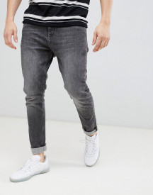 Esprit Slim Fit Tapered Jeans In Grey Wash afbeelding
