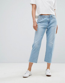 Esprit Straight Fit Distressed Jeans afbeelding