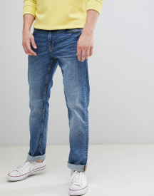 Esprit Straight Fit Jeans In Light Wash Blue afbeelding