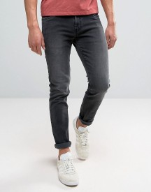 Farah Drake Slim Fit Jeans In Charcoal afbeelding