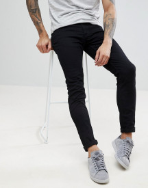 Farah Drake Twill Slim Fit Jeans In Black afbeelding