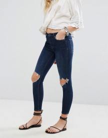 Free People High Rise Busted Skinny Jeans afbeelding