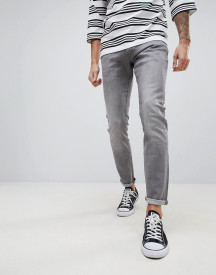 G-star 3301 Deconstructed Super Slim Jeans Grey afbeelding