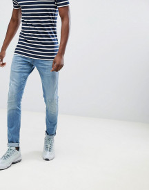 G-star D-staq Skinny Jeans Lt Aged Destroy afbeelding