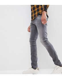 G-star Revend Super Slim Jeans With Abraisons Washed Black afbeelding