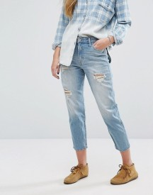Hollister High Rise Girlfriend Jeans afbeelding