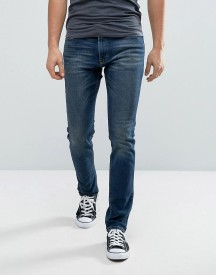 Hollister Stretch Skinny Jeans In Mid Wash afbeelding