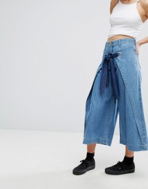 House Of Holland X Lee Wide Leg Jean With Wrap Front afbeelding