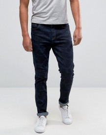 Hoxton Denim Jeans Blue Night Camo Skinny Jean afbeelding