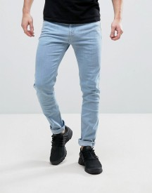 Hoxton Denim Light Wash Skinny Jeans afbeelding