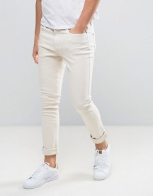 Hoxton Denim Super Skinny Jeans In Dusty Pink afbeelding