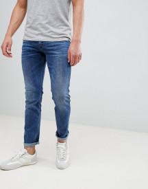 Hugo 734 Skinny Super Stretch Jean In Mid Wash afbeelding