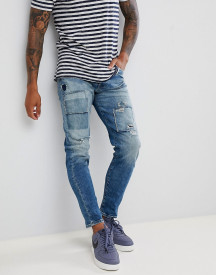 Jack & Jones Jeans In Tapered Fit With Patch Details afbeelding