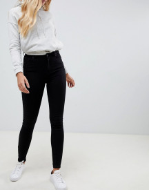 Jack Wills Ferhnam High Rise Skinny Jean In Black afbeelding