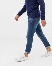 J.crew Mercantile Slim Fit Flex Jeans In Mid Wash afbeelding