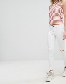 Jdy Skinny Jean With Split Knee And Raw Hem afbeelding