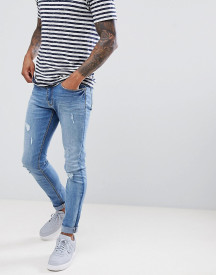 Jefferson Light Blue Ripped Jeans afbeelding