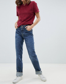 Kings Of Indigo Lucy Organic Cotton Highwaisted Mom Jean afbeelding