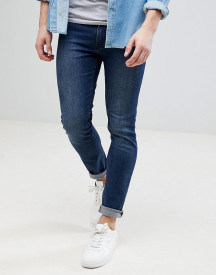 Kiomi Super Skinny Jeans In Dark Blue afbeelding