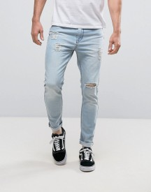 Kubban Skinny Fit Jeans In Light Wash afbeelding
