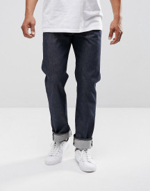 Levis 501 Original Straight Fit Jeans New Day Indigo Selvedge afbeelding
