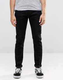Levi's 512 Skinny Tapered Jeans Nightshine Black afbeelding