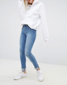 Levi's 721 High Rise Skinny Jean In Lightwash afbeelding