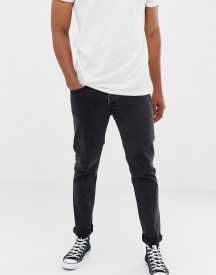 Levi's X Justin Timberlake 501 Slim Tapered Fit Jeans In Washed Black afbeelding