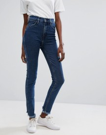 Levis Line 8 High Waisted Skinny Jean With Raw Hem afbeelding