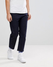 Linbergh Raw Indigo Cropped Jeans afbeelding