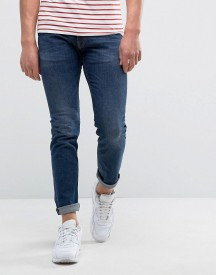 Love Moschino Jeans With Peace Badge In Slim Fit afbeelding