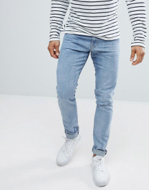 Love Moschino Skinny Fit Jeans With Branded Back Tab afbeelding