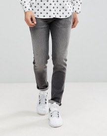 Love Moschino Slim Fit Jeans In Washed Black afbeelding