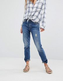 Lovers + Friends Logan High Rise Slim Jeans With Released Hem afbeelding