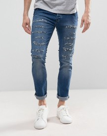 Loyalty And Faith Doric Ripped Skinny Jeans In Stone Wash afbeelding