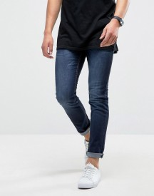Loyalty And Faith Manor Skinny Fit Jeans In Dark Wash Blue afbeelding