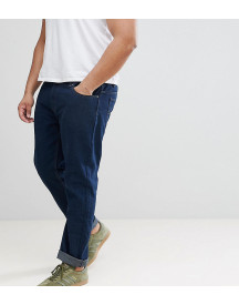 Loyalty And Faith Plus Regular Fit Jeans In Darkwash Blue afbeelding