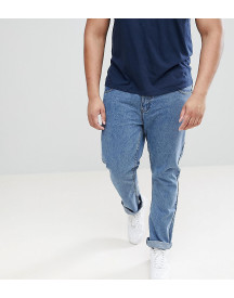Loyalty And Faith Plus Regular Fit Jeans In Stonewash Blue afbeelding