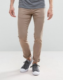 Loyalty And Faith Skinny Fit Jeans With Light Abbrasions In Stone afbeelding