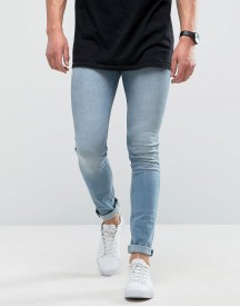 Loyalty And Faith Super Skinny Jeans In Light Blue Wash afbeelding