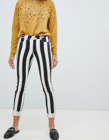 Maison Scotch Striped Skinny Fit Jeans afbeelding