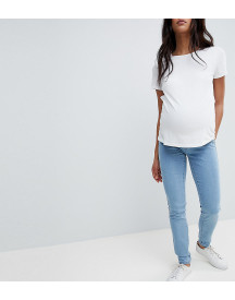 Mamalicious Over The Bump Slim Jeans afbeelding