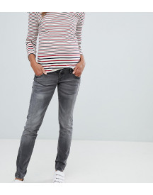 Mamalicious Worn Skinny Jeans With Step Hem afbeelding