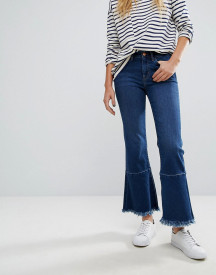 M.i.h Jeans Lou Cropped Jeans With Extreme Raw Edge afbeelding