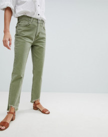 Mih Jeans Mimi High Rise Vintage Slim Jean With Raw Hem afbeelding
