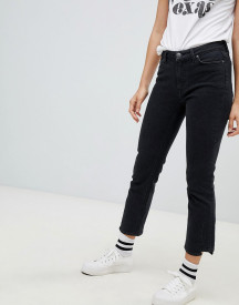 Mih Jeans Niki High Rise Slim Leg Jeans With Stepped Hem afbeelding